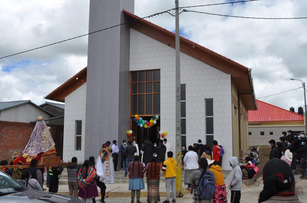 Apertura e inauguración de la capilla de Uchucarcco_3
